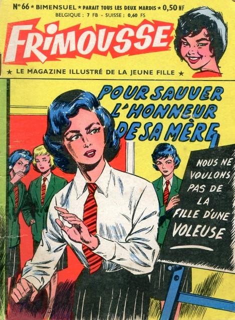 Couverture de Frimousse et Frimousse-Capucine -66- Pour sauver l'honneur de sa mère