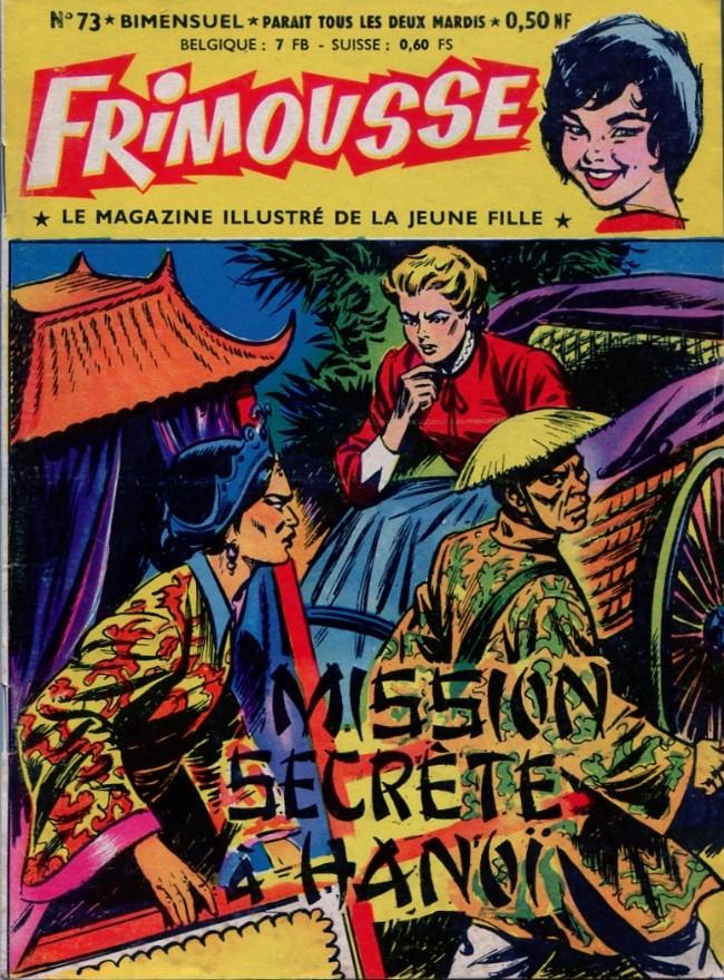 Couverture de Frimousse et Frimousse-Capucine -73- Mission secrète à Hanoï