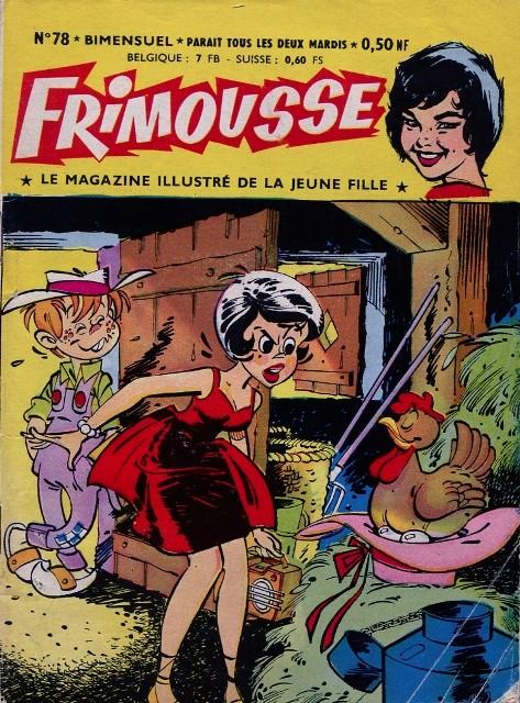 Couverture de Frimousse et Frimousse-Capucine -78- Panique au Cirque
