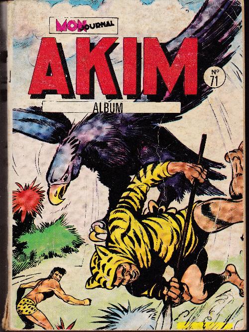 Couverture de Akim (1re série) -Rec071- Album N°71 (du n°405 au n°408)