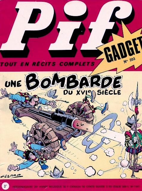 Couverture de Pif (Gadget) -203- Numéro 203