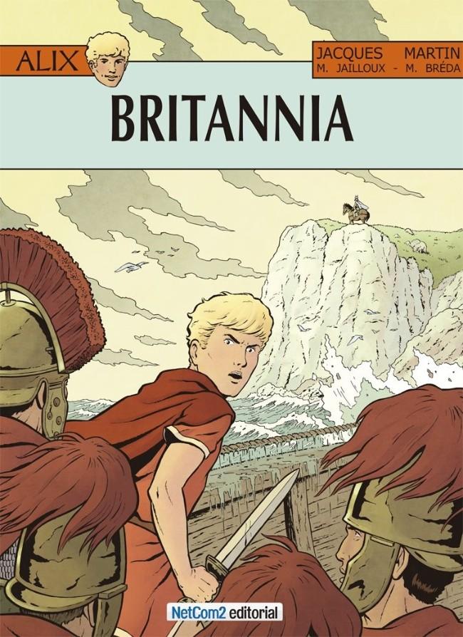 Couverture de Alix (en espagnol) -33- Britannia