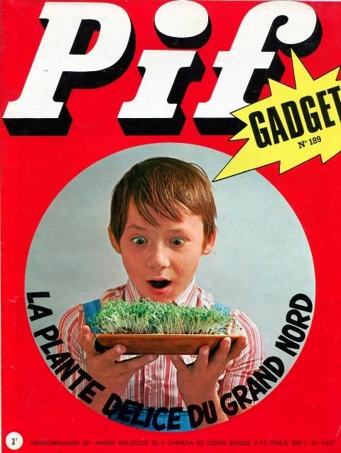 Couverture de Pif (Gadget) -189- Numéro 189