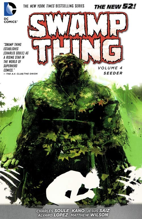 Couverture de Swamp Thing (2011) -INT04- The Seeder