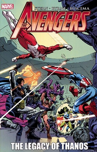 Couverture de Avengers (The) (TPB) -INT- The Legacy of Thanos