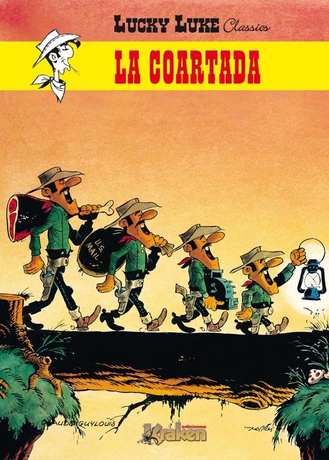 Couverture de Lucky Luke Classics (en espagnol - Ediciones Kraken) -1- La Coartada