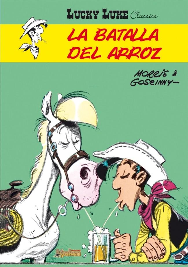 Couverture de Lucky Luke Classics (en espagnol - Ediciones Kraken) -2- La Batalla Del Arroz
