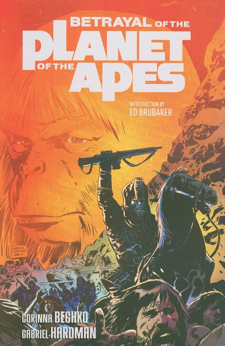 Couverture de Betrayal Of The Planet Of The Apes (2011) -INT- Betrayal Of The Planet Of The Apes