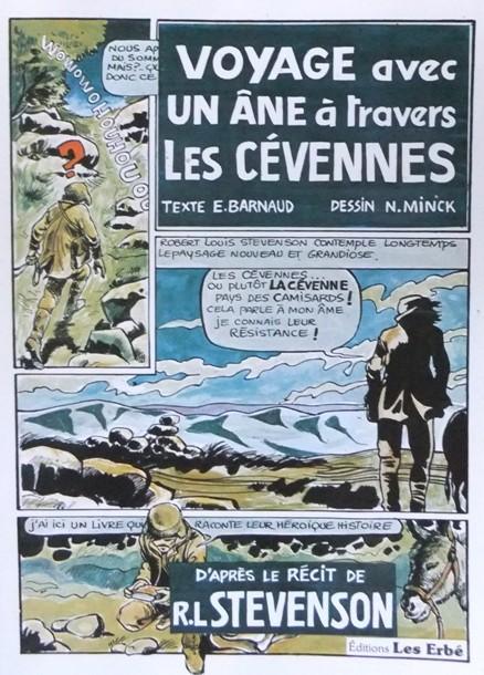 Couverture de Voyage avec un âne à travers les Cévennes - Tome 1
