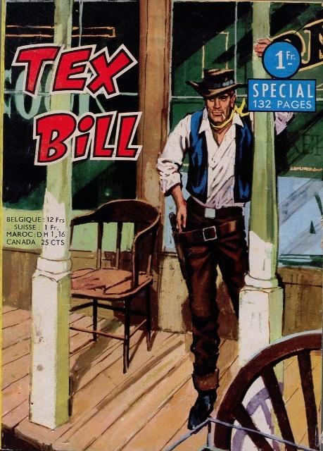 Couverture de Tex Bill -SP01- Spécial 2/67 : Un homme en colère