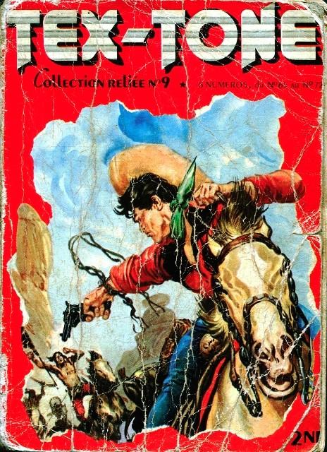 Couverture de Tex-Tone -Rec09- Collection reliée N°9 (du n°65 au n°72)