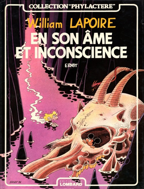 Couverture de William Lapoire -2- En son âme et inconscience