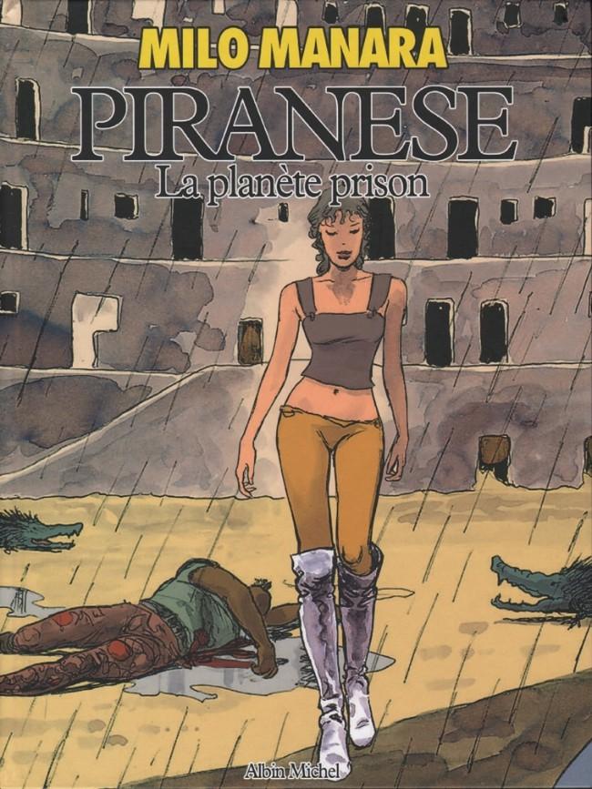 Couverture de Piranese -1- La planète prison