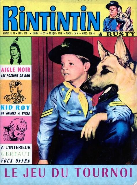 Couverture de Rin Tin Tin & Rusty (2e série) -28- L'Esprit du Grizzly