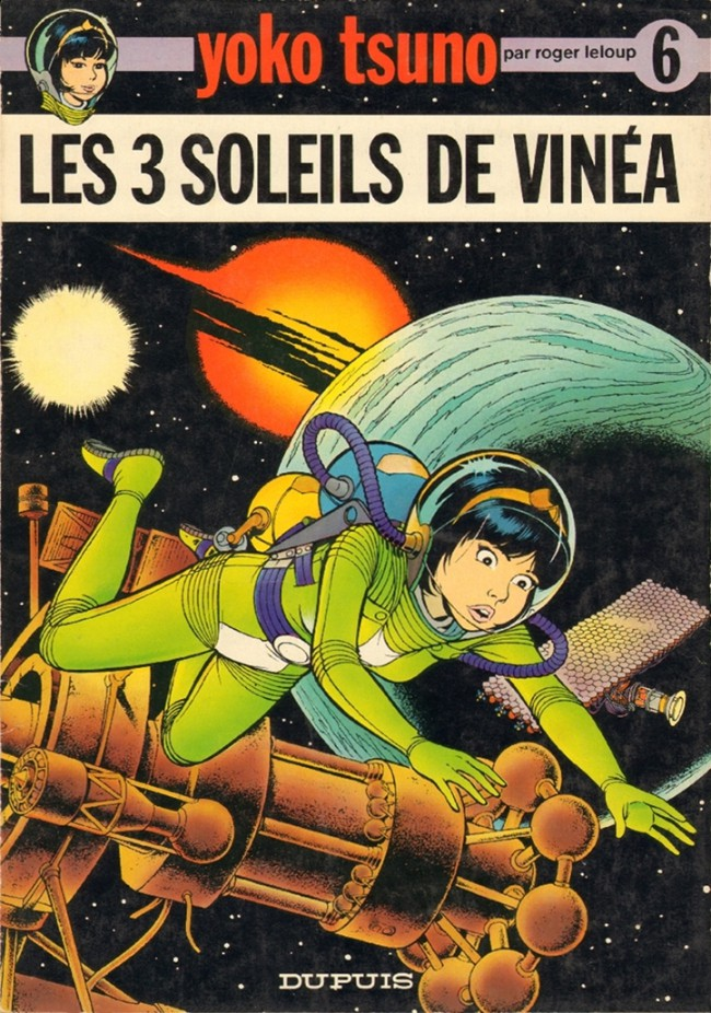 Couverture de Yoko Tsuno -6- Les 3 soleils de Vinéa