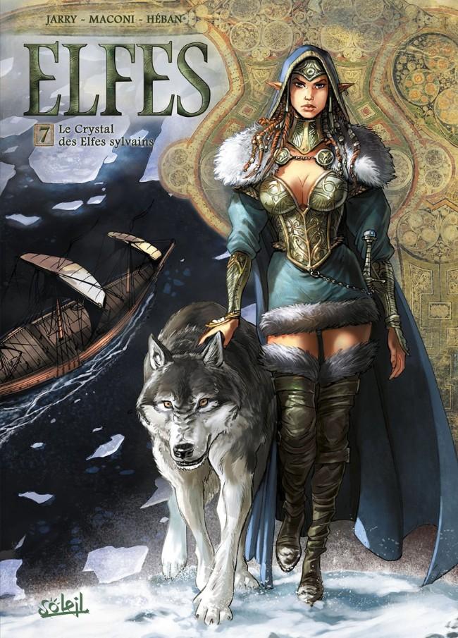 Couverture de Elfes -7- Le Crystal des Elfes sylvains