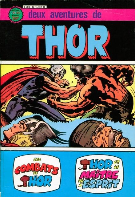 Couverture de Thor le fils d'Odin -ALB19- Album N°19 (N°6 et N°7)