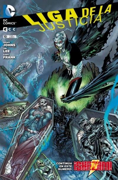 Couverture de Liga de la Justicia (Nuevo Universo DC) -10- La Travesía del Villano. Capítulo 2