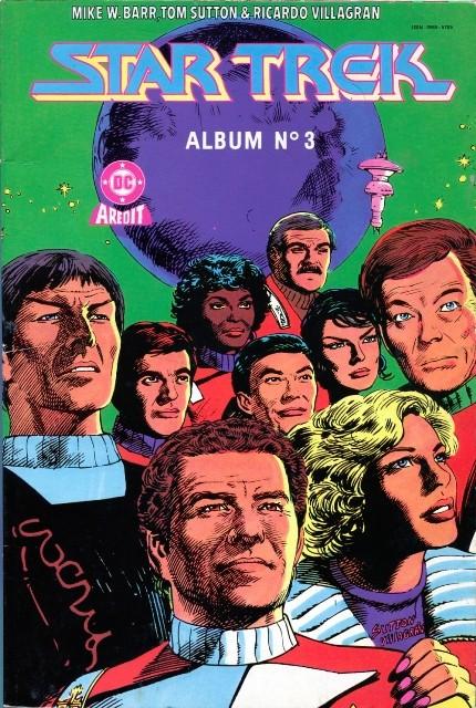 Couverture de Star Trek (Aredit) -Rec03- Album n°3 (n°4 et n°5)