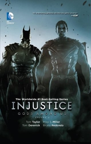 Couverture de Injustice: Gods Among Us (2013) -INT02- Gods Among Us Volume 2