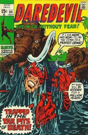 Couverture de Daredevil Vol. 1 (Marvel - 1964) -66- ... And one cried murder!
