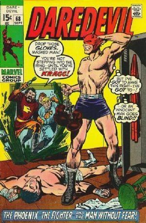 Couverture de Daredevil (1964) -68- Phoenix and the Fighter!