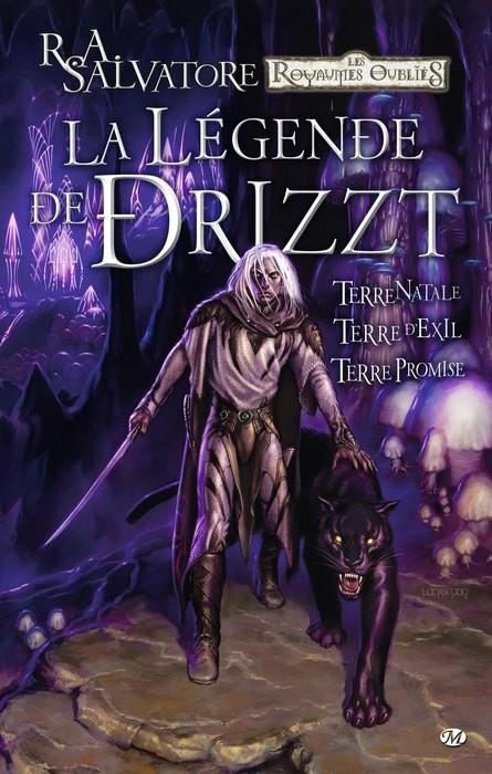 Couverture de La légende de Drizzt -INT1- La Légende de Drizzt