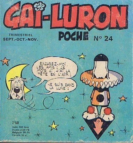 Couverture de Gai-Luron (Poche) -24- Dans la lune