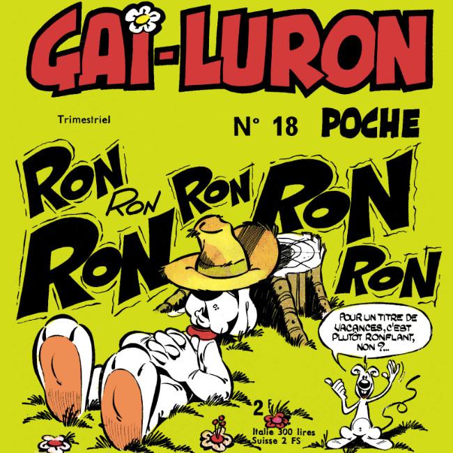 Couverture de Gai-Luron (Poche) -18- Ronron