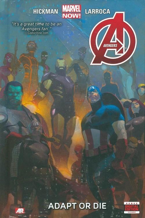 Couverture de Avengers Vol.5 (Marvel comics - 2013) -INT05- Adapt or Die