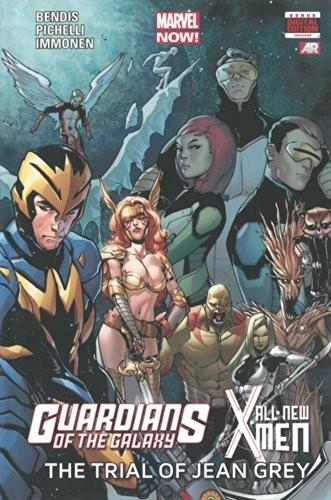 Couverture de X-Men (TPB) -INT- Guardians of the Galaxy/All-New X-Men: The Trial of Jean Grey
