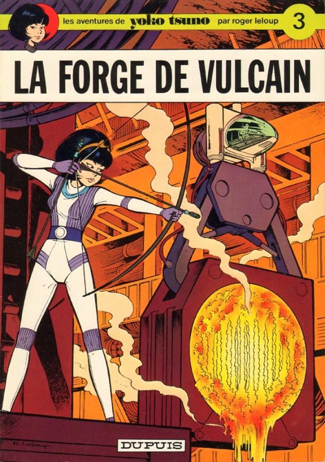 Couverture de Yoko Tsuno -3- La forge de Vulcain