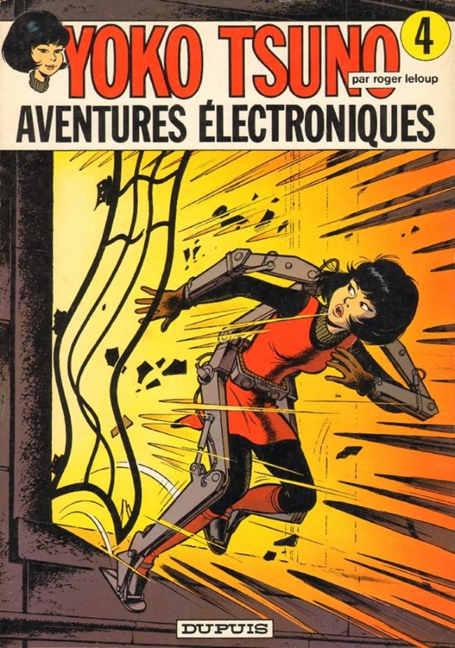 Couverture de Yoko Tsuno -4- Aventures électroniques