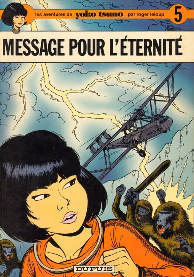 Couverture de Yoko Tsuno -5- Message pour l'éternité