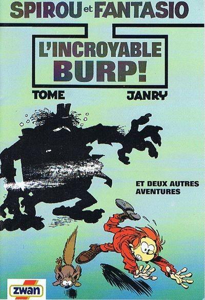 Couverture de Spirou et Fantasio -2- (Divers) -Pub- L'incroyable Burp et deux autres aventures