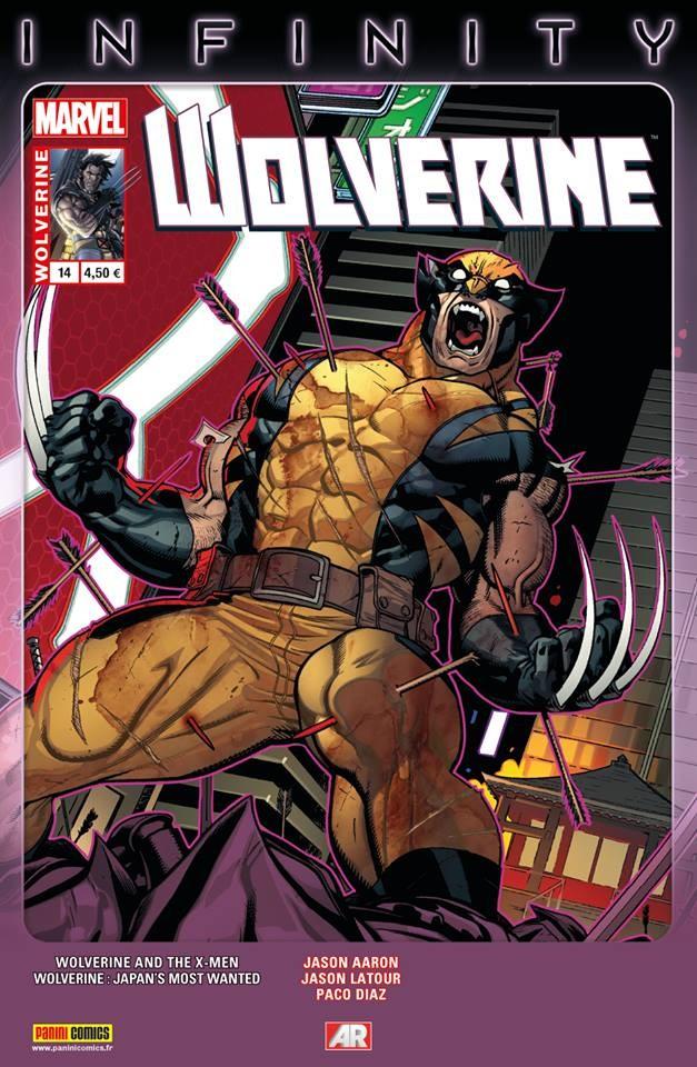 Couverture de Wolverine (Marvel France 4e série) (2013) -14- L'Académie impériale