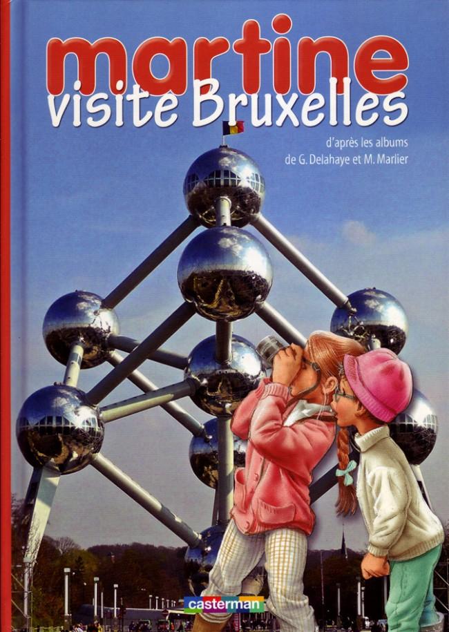 Couverture de Martine -HS- Martine visite Bruxelles