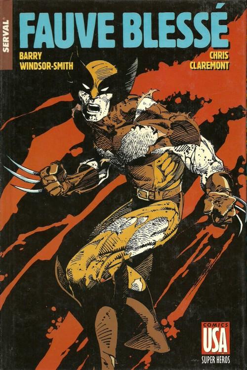 Couverture de Super Héros (Collection Comics USA) -11- Serval : Fauve blessé - Daredevil : Rêve américain