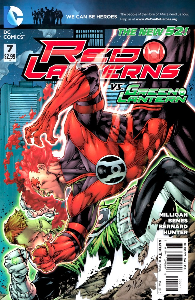 Couverture de Red Lanterns (2011) -7- Rebel yell