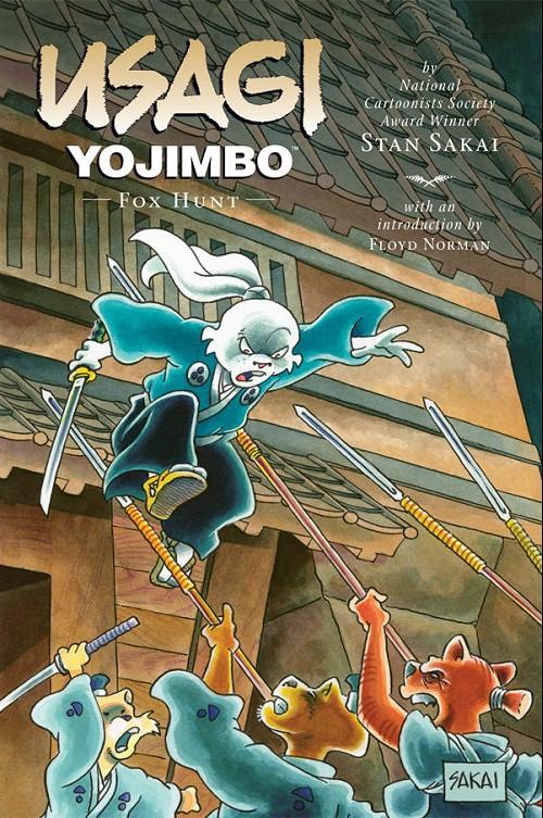 Couverture de Usagi Yojimbo (1996) -INT25- Fox hunt