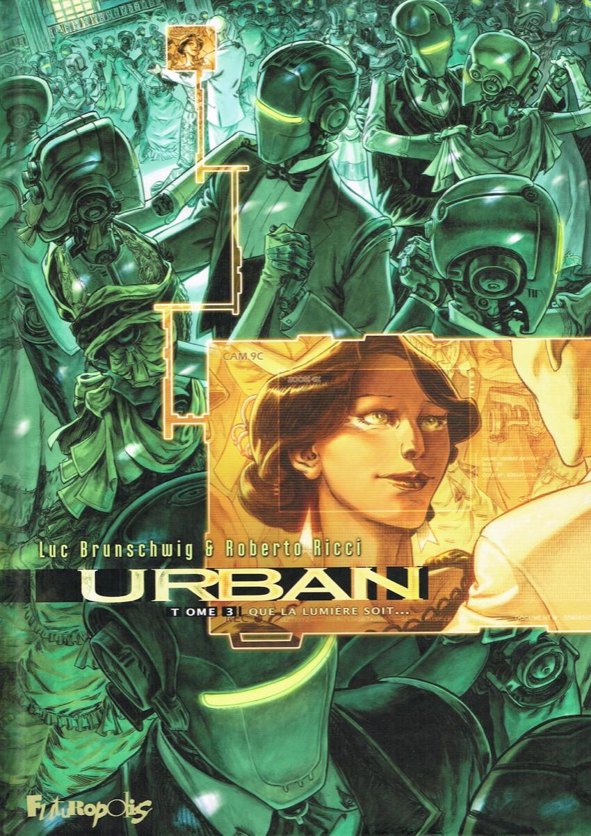 Couverture de Urban -3- Que la lumière soit...