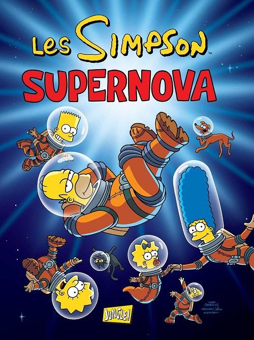 Couverture de Les simpson (Jungle !) -25- Supernova