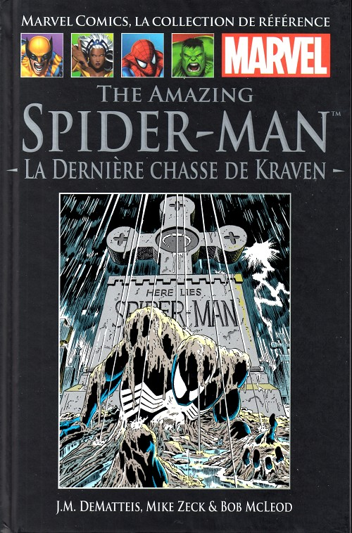 Couverture de Marvel Comics - La collection (Hachette) -1310- The Amazing Spider-Man - La Dernière chasse de Kraven