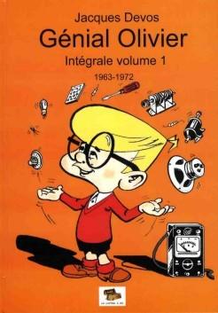 Couverture de Génial Olivier -INT01- Intégrale volume 1 : 1963-1972
