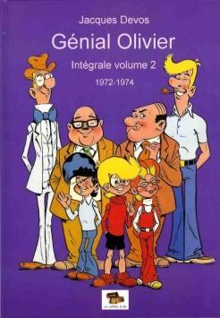 Couverture de Génial Olivier -INT02- Intégrale volume 2 : 1972-1974