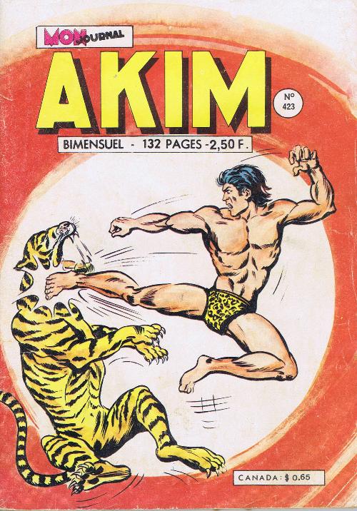 Couverture de Akim (1re série) -423- L'homme d'or