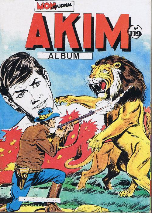Couverture de Akim (1re série) -Rec119- Album N°119 (du n°597 au n°600)