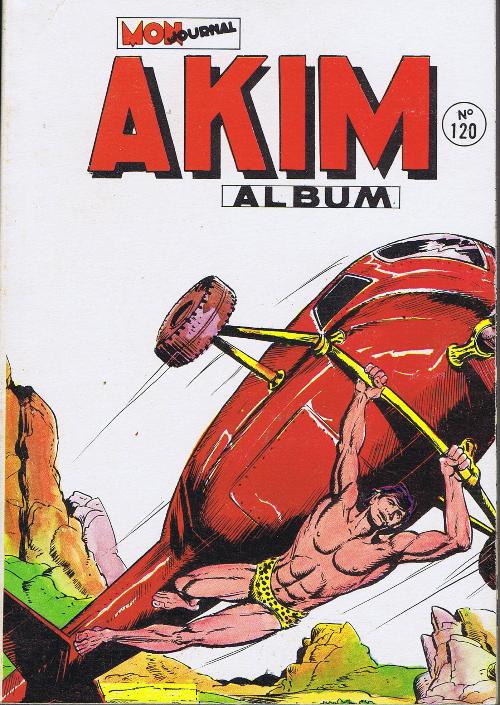 Couverture de Akim (1re série) -Rec120- Album N°120 (du n°601 au n°604)