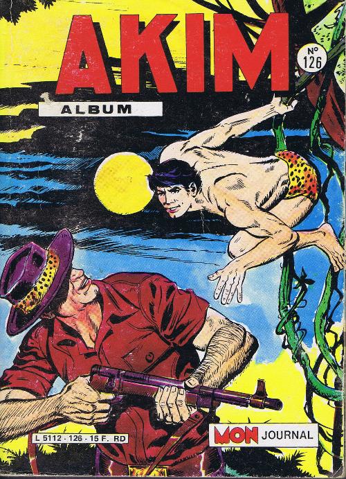Couverture de Akim (1re série) -Rec126- Album N°126 (du n°625 au n°628)