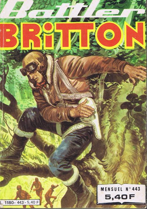 Couverture de Battler Britton -443- N°443